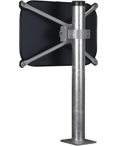Verkehrsspiegel-Befestigung für Pfosten