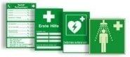 Erste-Hilfe-Schilder