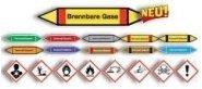 Rohrkennzeichnung aktuelle DIN 2403 und GHS/CLP