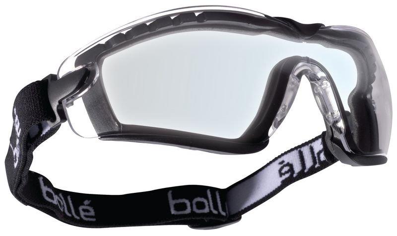 Schutzbrille mit farblosen Gläsern, Klasse F