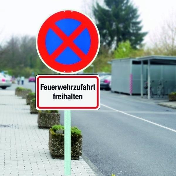 Rettungsweg-Kombi-Schilder, individuell, massiv