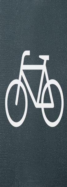 Radfahrer – PREMARK Straßenmarkierungen, Symbole