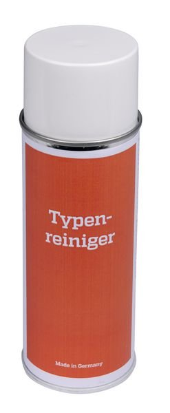 Typenreiniger-Spray