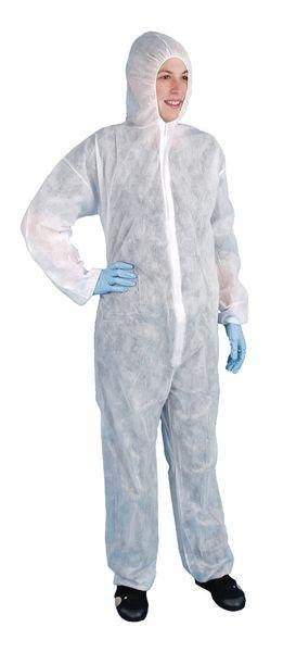 Overall mit Kapuze - Hygiene-Schutzkleidung