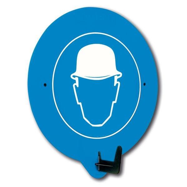 Kopfschutz benutzen - PSA-Haken