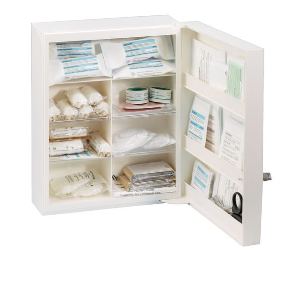 Erste-Hilfe-Schränke, Kunststoff, ÖNORM Z1020 Typ 1
