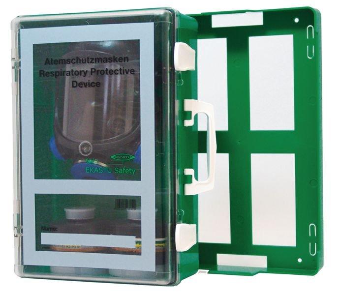 EKASTU Wandschrank für Atemmasken, mobil