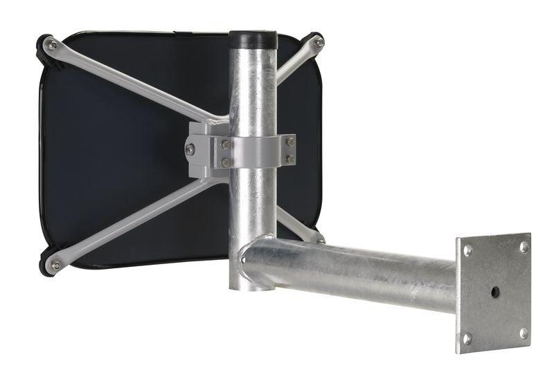 Rohrpfosten-Wandarm-Befestigungen für Verkehrsspiegel