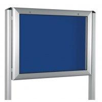 Design-Schaukasten für den Außenbereich