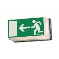 Rettungsweg links - Universal-Rettungszeichenleuchten