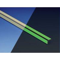 Treppenkanten-Profile zur Boden-Fluchtwegkennzeichnung, langnachleuchtend