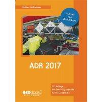 ADR 2017 – Gefahrstoffliteratur