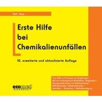 Erste Hilfe bei Chemikalienunfällen – Gefahrstoffliteratur