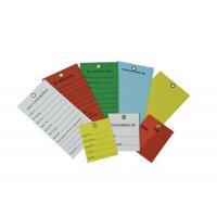 Kollianhänger mit Text nach Wunsch, aus Kunststoff mit Schutzlaminat, beschriftbar