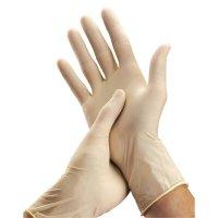 Latex-Einmalhandschuhe, steril