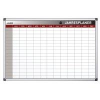 Bi-Office Jahresplaner mit 12-Monats-Spalten - Magnetische Planungstafeln