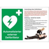 Anwendung Defibrillator - Sicherheitshinweise