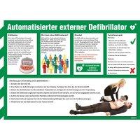 Information und Anwendung Defibrillator - Sicherheitshinweise