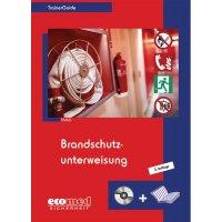 """Handbuch und CD-ROM """"Brandschutzunterweisung"""" für Arbeitssicherheit und Gesundheitsschutz"""