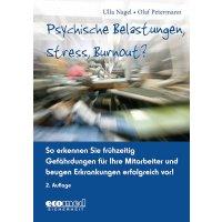 """Handbuch und CD-ROM """"Psychische Belastungen, Stress, Burnout?"""" für Arbeitssicherheit und Gesundheitsschutz"""