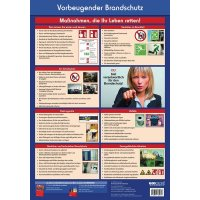 """Betriebsaushang """"Vorbeugender Brandschutz"""" zur Arbeitssicherheit"""