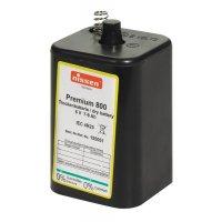 6V-Batterien für Sicherheitsbaken-Baustellenlampe