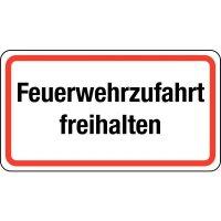 Rettungsweg-Zusatzzeichen mit Text nach Wunsch, massiv