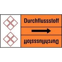 Rohrkennzeichnungsband, individuell nach DIN 2403, GHS/CLP