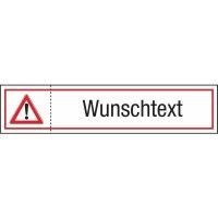 Siegel für Brandschutz- und Fluchtwegtüren mit Text nach Wunsch