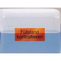 Rollenetiketten aus PVC, individuell, transluzent, eckig