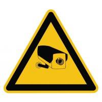 Warnzeichen-Schilder mit Piktogramm