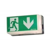Rettungsweg Durchgang - Universal-Rettungszeichenleuchten, EN ISO 7010