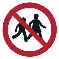 Kinder verboten - ToughWash Sicherheitsschilder, EN ISO 7010