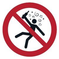 Nicht für Personen in berauschtem Zustand - ToughWash Sicherheitsschilder, EN ISO 7010