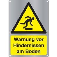 Warnung vor Hindernissen am Boden - Kombischilder Premium Deluxe, EN ISO 7010