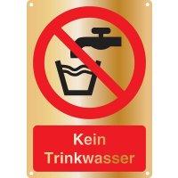 Kein Trinkwasser - Kombischilder Premium Deluxe, EN ISO 7010