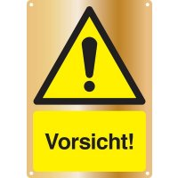 Vorsicht! - Kombischilder Premium Deluxe, EN ISO 7010