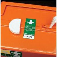 Prüfsiegel für Erste-Hilfe-Ausrüstung