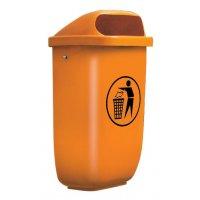 Außen-Abfallbehälter aus Kunststoff