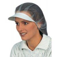 Hygiene-Kopfschutzhauben mit Schirm