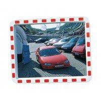 Verkehrsspiegel aus Acrylglas, rechteckig