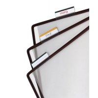 Vollsichtreiter für Stahldraht-Sichttafel-Systeme