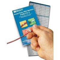 Elektrozeichen zur Kabelmarkierung 1,2,3