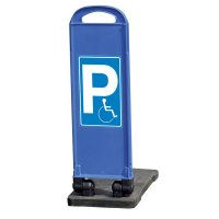 Parkplatz für Rollstuhlfahrer – Parkbaken, mobil