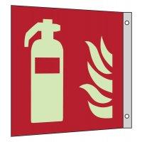 """Internationale Brandschutzzeichen-Schilder """"Feuerlöschgerät"""" nach EN ISO 7010"""
