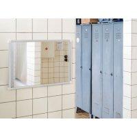 Sicherheits-Flachspiegel, glassplitterfrei