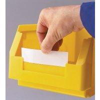 Etiketten für Lagersichtkästen – Lochblatt-Organisationssystem