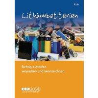 Lithiumbatterien – Gefahrstoffliteratur