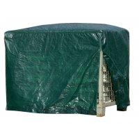 Abdeckhauben für Gitterboxen und Paletten