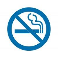 Rauchen verboten - Piktogramm aus Folie, selbstklebend, ISO 7001